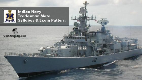 Indian Navy Exam Pattern 2019