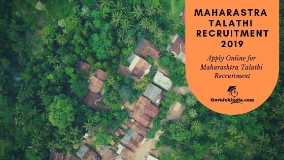 Maharashtra Talathi Recruitment 2019 Apply online