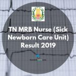 TN MRB Result 2019