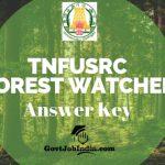 TNFUSRC Forest Watcher Answer Key