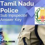 Tamil Nadu TNUSRB Sub Inspector Answer Key 2019
