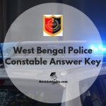 West Bengal Police Constable Answer key