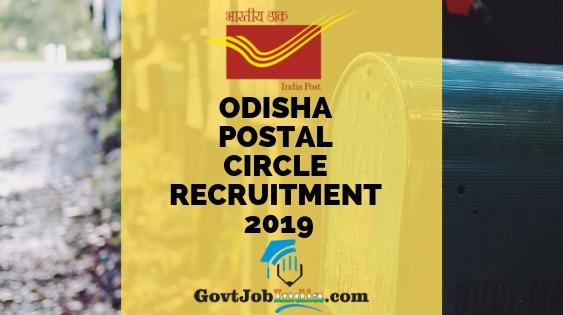 Govt Jobs in Orissa   Sarkari Naukri Vacancies Odisha 2019