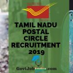 tamilnadu postal circle recruitment 2019