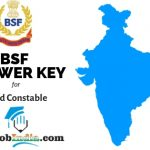 BSF Head Constable Answer Key 2019