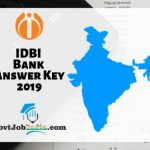 IDBI Assistant Manager Answer Key 2019