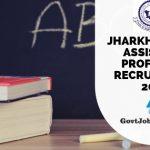 JPSC Asst Professor Bharti 2019