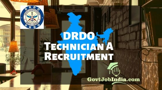 DRDO Technician Vacancy
