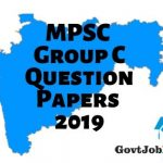 MPSC Group C Model Question Papers 2019
