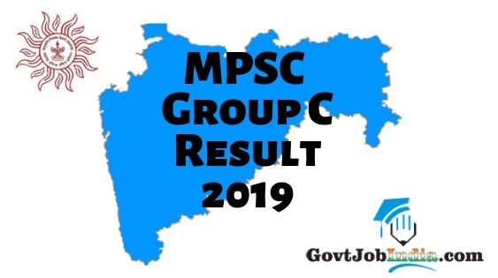 MPSC Group C Result 2019