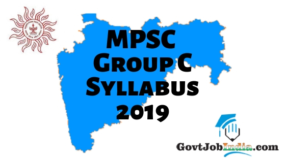 MPSC Group C Syllabus PDF 2019