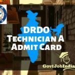 DRDO CEPTAM Admit Card
