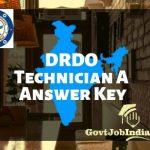 DRDO CEPTAM 09 Answer Key
