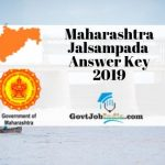 Maharashtra WRD Answer Key 2019