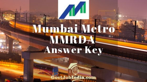 MMRDA Answer Key