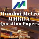 Mumbai Metro Previous Papers