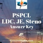 PSPCL LDC Answer Key