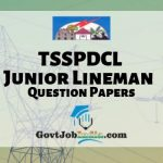 TSSPDCL JLM Previous papers