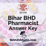 BHD Pharmacist Solution Key