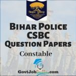 Bihar Police CSBC Constable Model Papers PDF