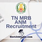 TNMRB Village Health Nurse Recruitment