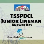 Telangana Junior Lineman Answer Key